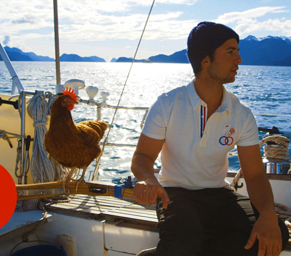 Sailing Solo Around the World…With a Pet Chicken