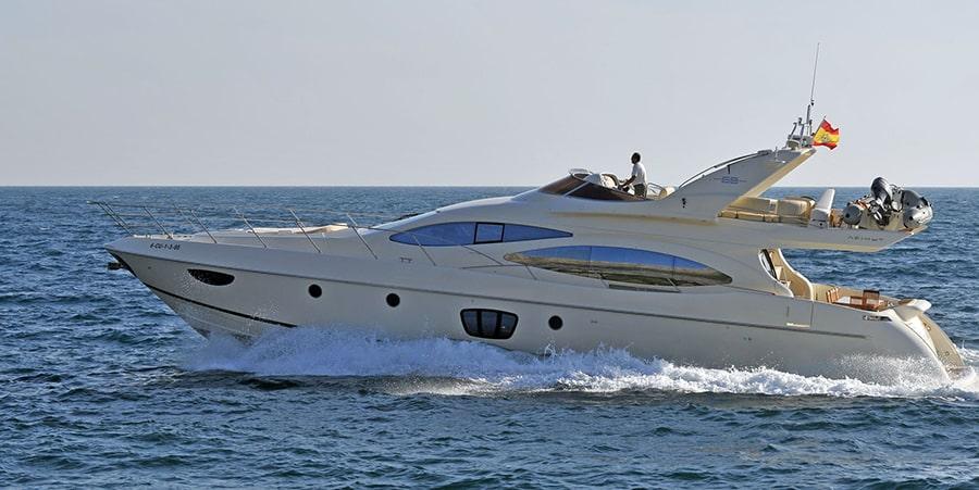 azimut 68 motor yacht charter