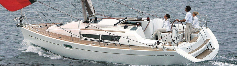 Jeanneau Sun Odyssey 36i sailboat charter