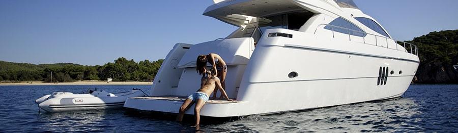 luxury motor yacht charter Ibiza