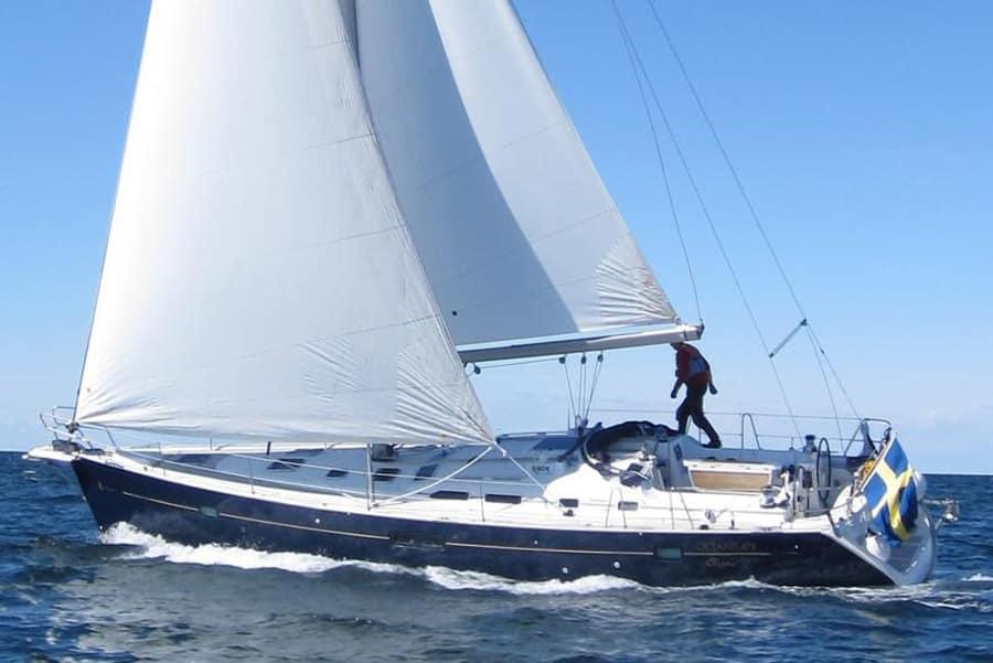 charter Oceanis 473 Clipper in Turkey