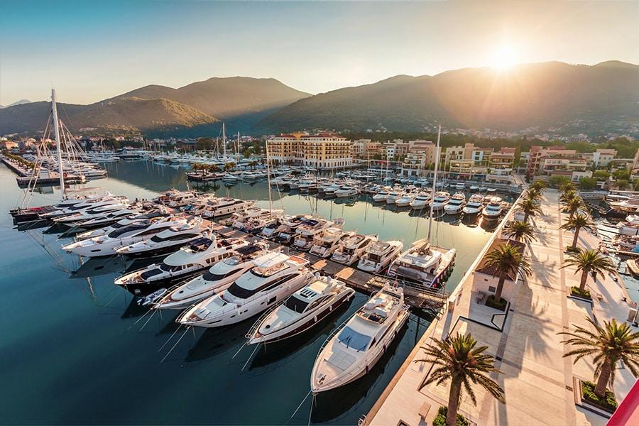 Porto Montenegro yacht berths