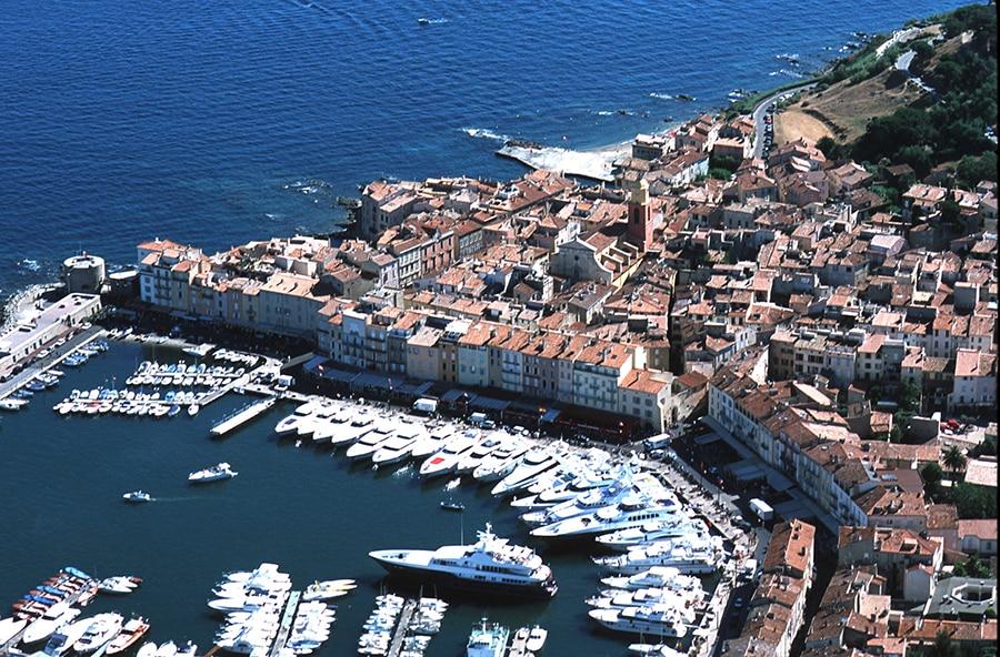 St Tropez yacht berths