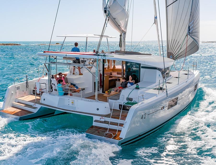 catamaran charter in spain