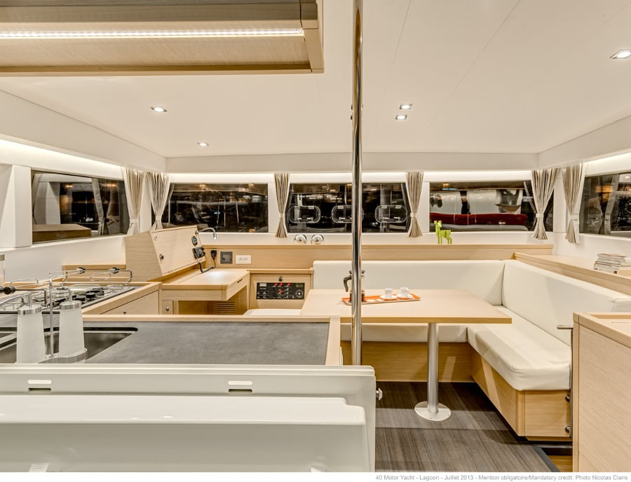 lagoon 40 catamaran Kitchen