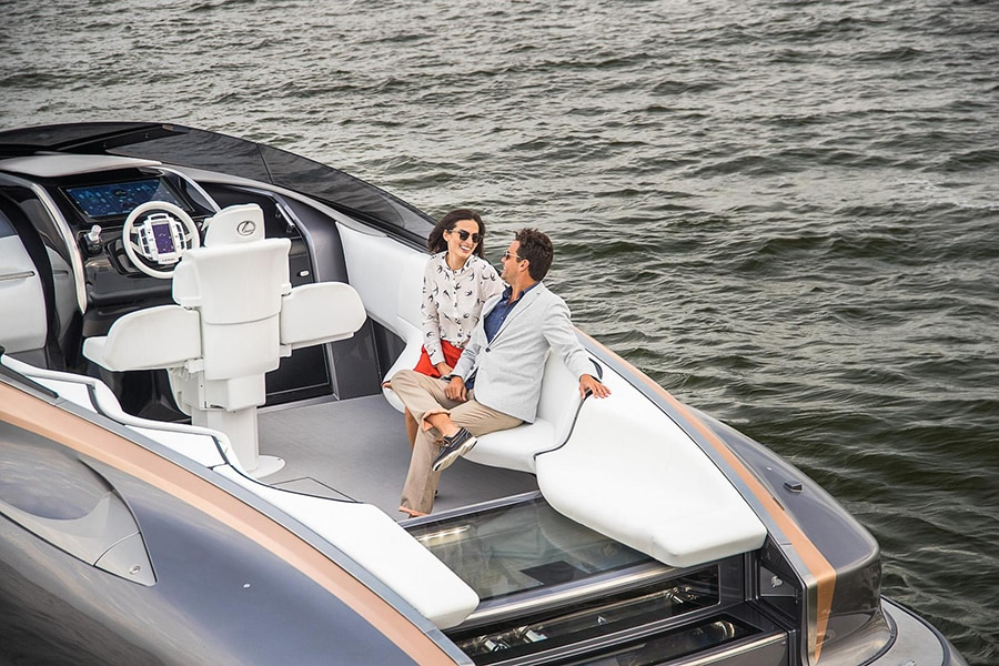 lexus power boat charter