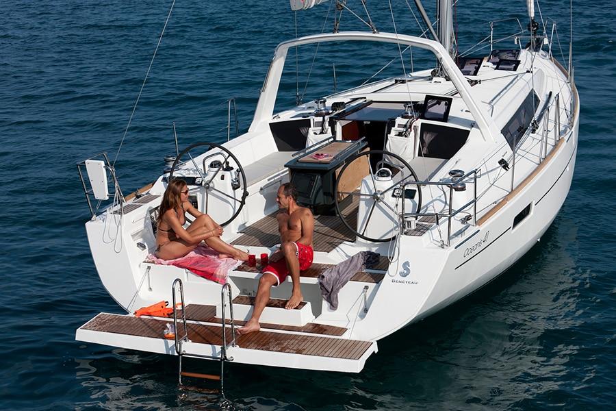 oceanis 40 boat charter