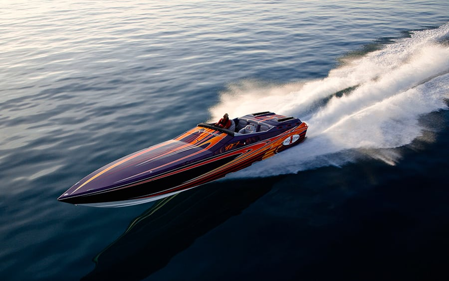 power boat charter greece