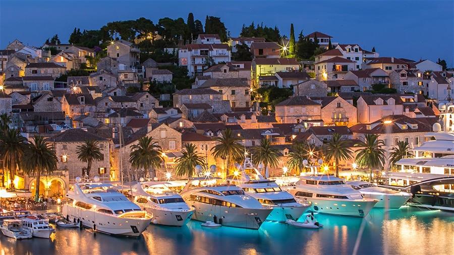 sailing in Hvar Croatia