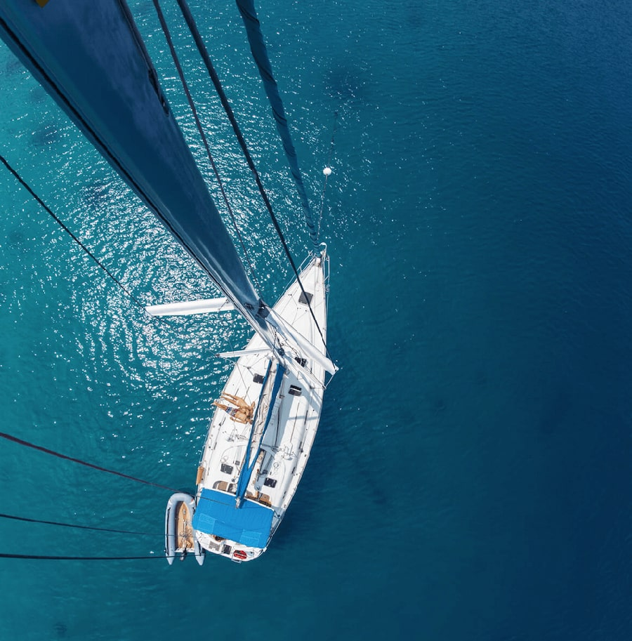 charter sailboat in mallorca