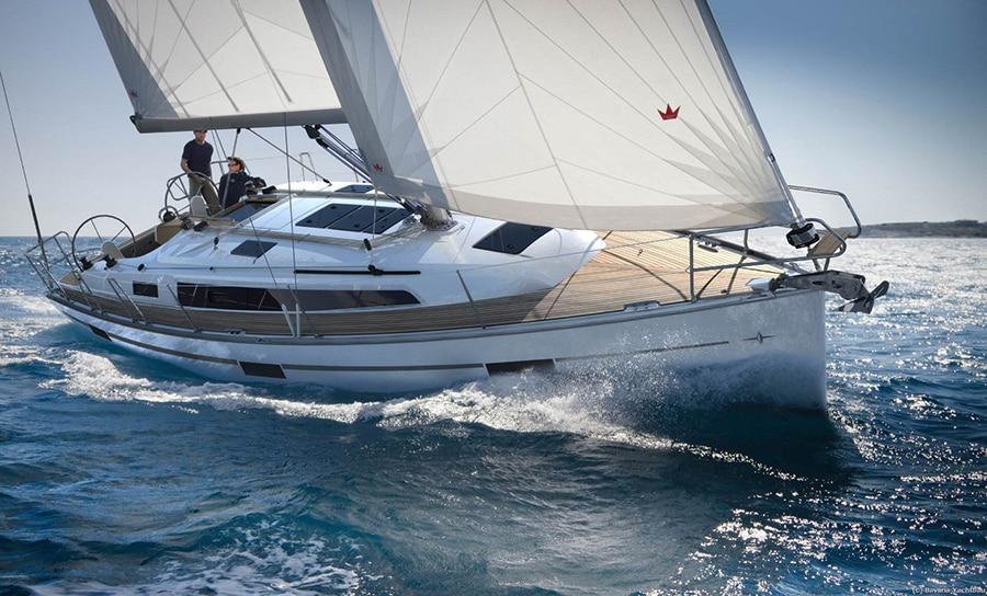 charter sailing boat in mallorca