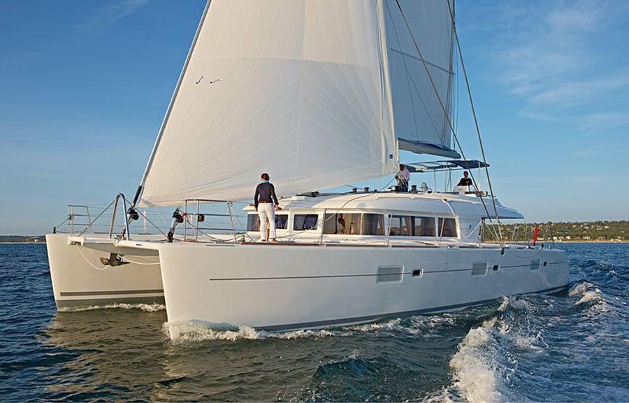 Luxury Bareboat Catamaran charter in Croatia