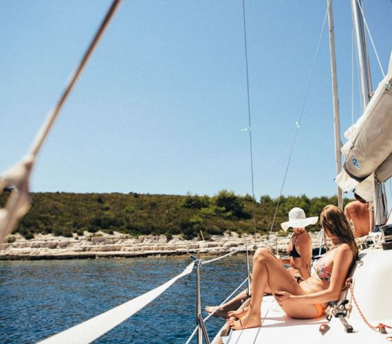 Did you ever visit Hvar in Croatia on a rented boat?