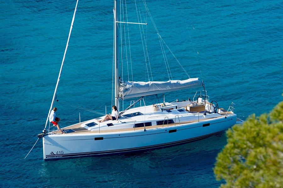 charter Hanse 415 in Croatia