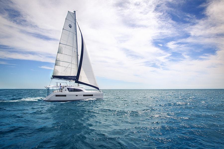 Catamaran Leopard 40 in turkey