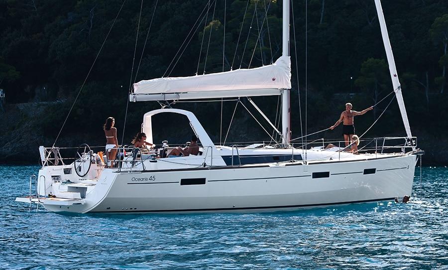 boat rental Beneteau Oceanis 45 in croatia