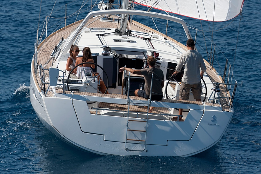 charter Beneteau Oceanis 45 in croatia