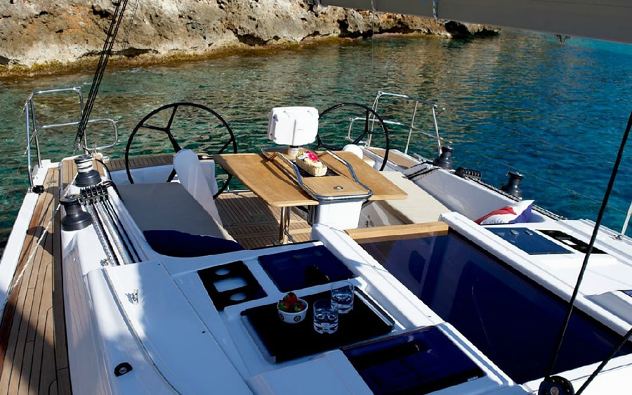 rent the Hanse 415 in Croatia