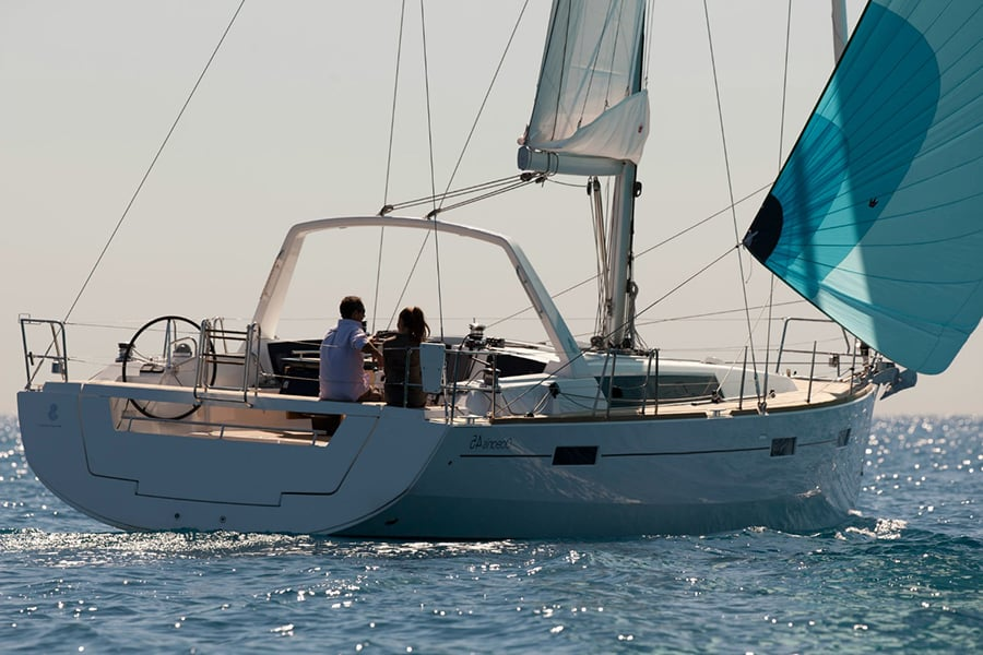 rent Beneteau Oceanis 45 in croatia
