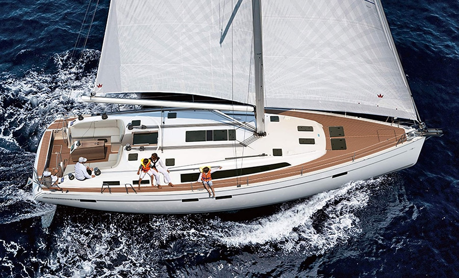 yacht charter croatia with Bavaria 45 cruiser
