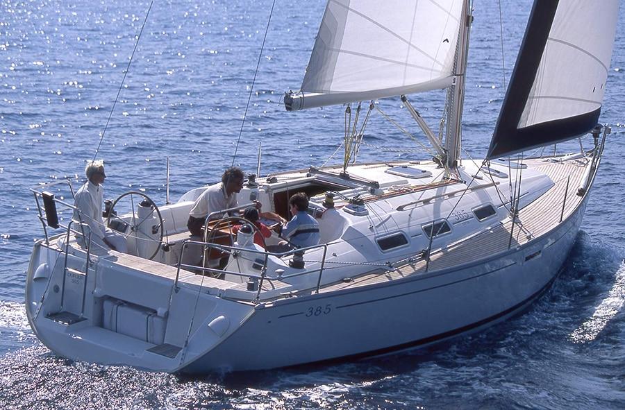 sailing with Dufour 385 GL in croatia