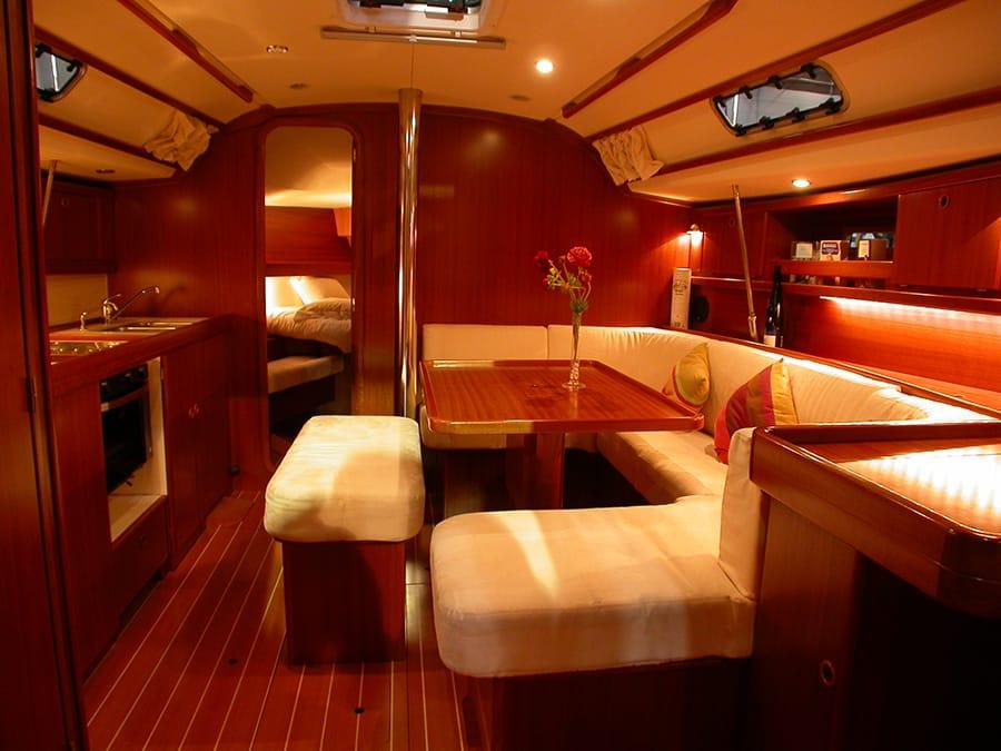 dufour 385 GL interior