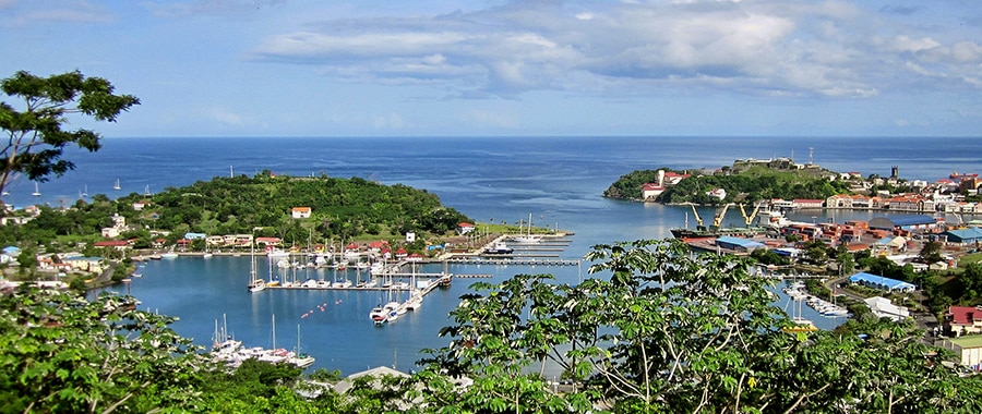 sailing holidays in grenada caribbean