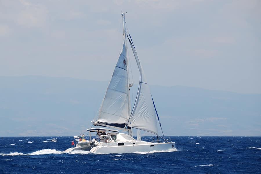 sailing with Fountaine Pajot Athena 38