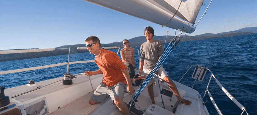 people sailing checklist