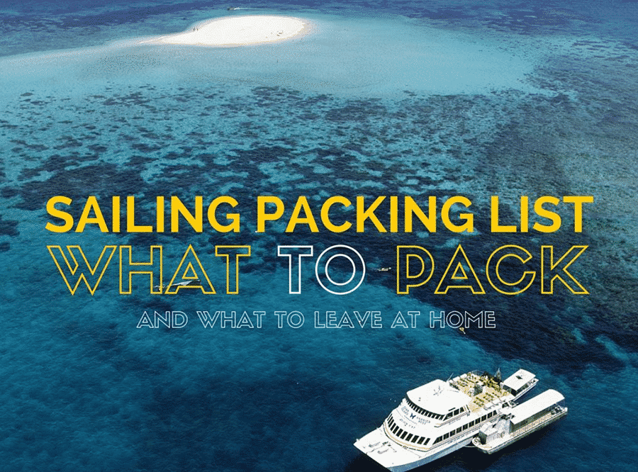 sailing packing checklist 2018
