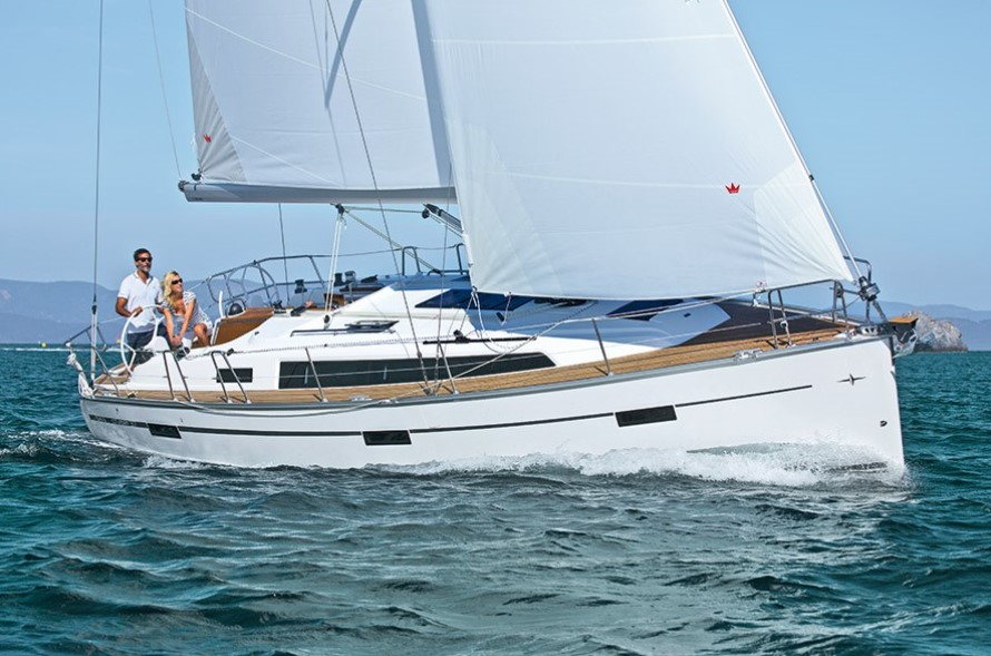 Bavaria Cruiser 37 sailing in Malta