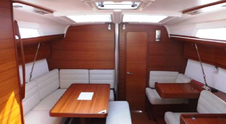 Dufour 410 Grand Large inside