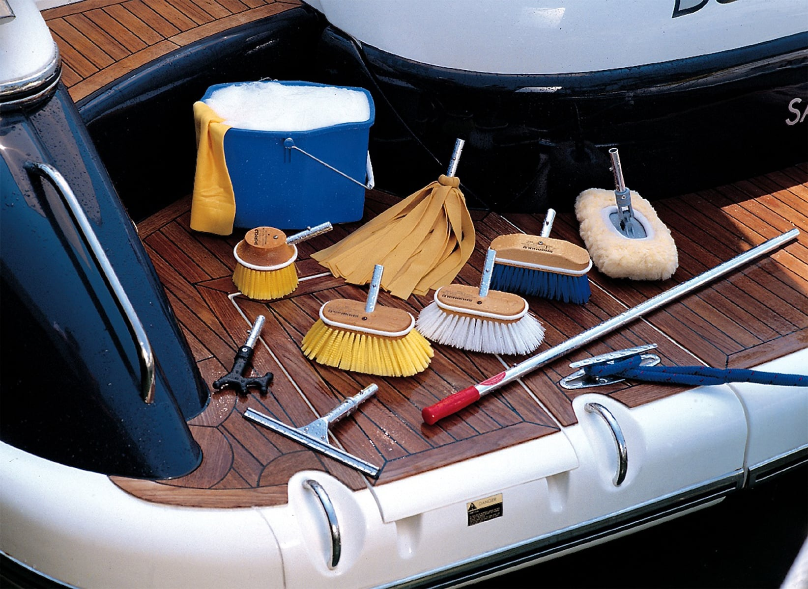 clean your boat