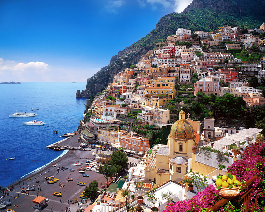 charter a boat in positano italy