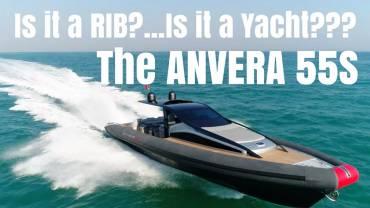 Is it a RIB? Is it a Yacht? It's the Anvera 55S! (Video)