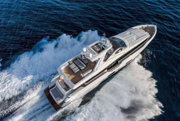 Ferretti 960: Luxury Yacht Charter in Croatia