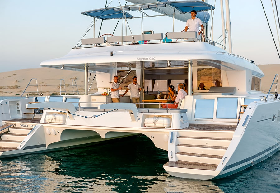 Boat Rentals in Pag, Croatia: Experience the Unique Catamaran Lagoon 620