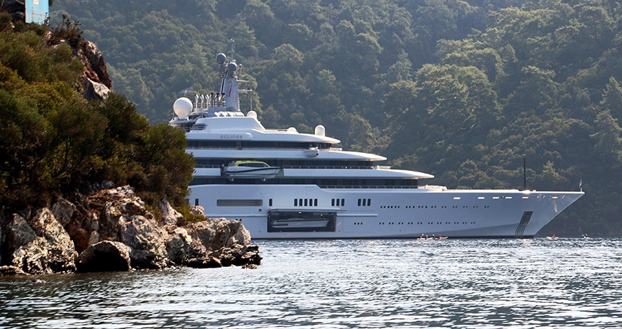 luxury yacht turkey eclipse