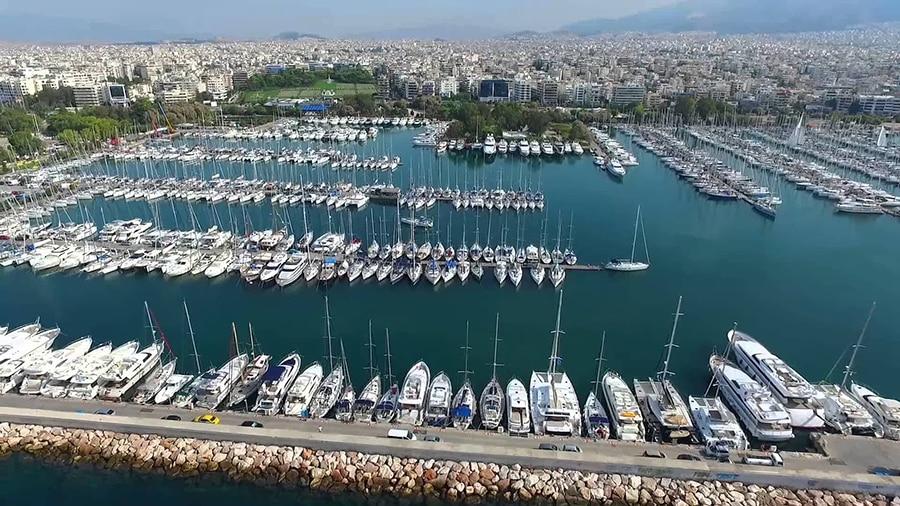 alimos marina Athens