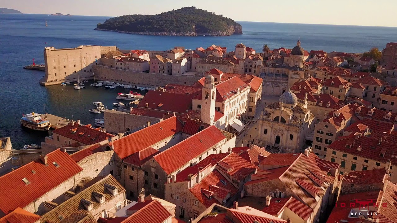 a magical flyby of Croatian city of Dubrovnik