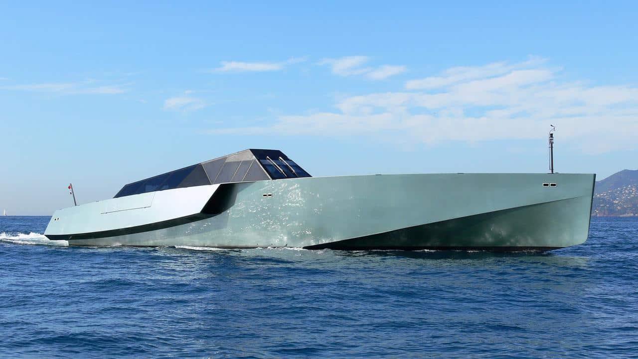 speed boat Galeocerdo yacht