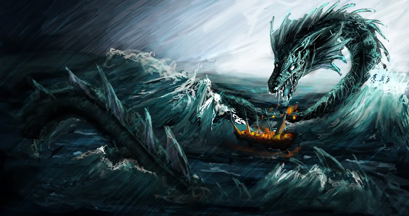 Leviathan mythical creature