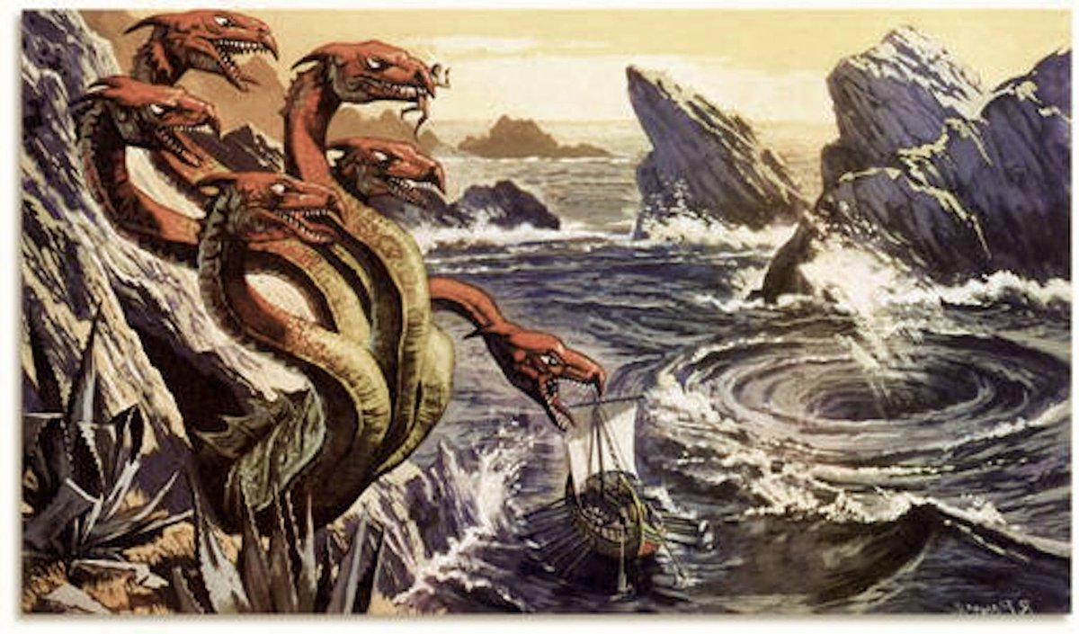 Scilla ocean creatures