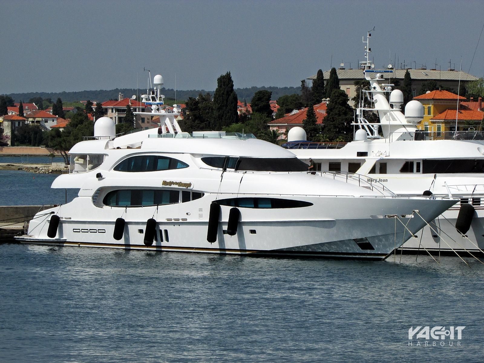 fastest mega yacht