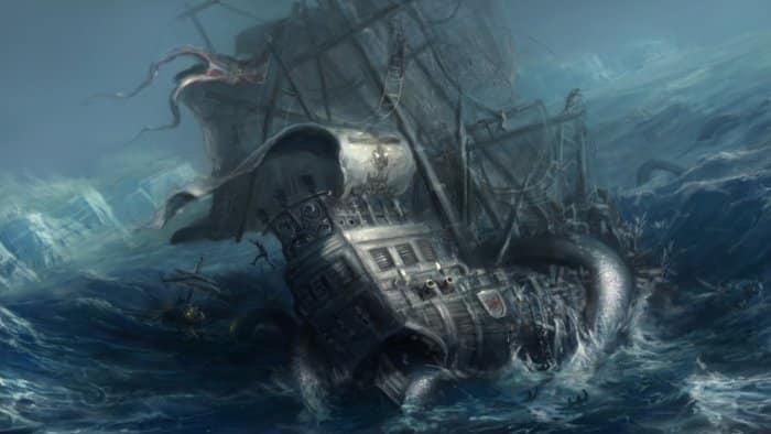 kraken mythical