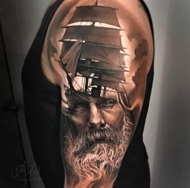 Traditional Sailor Tattoos