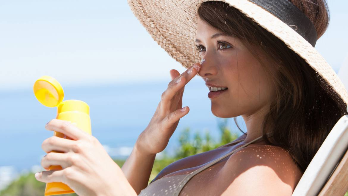 Take Care of Your Skin at the Sea