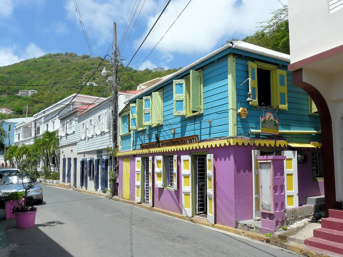 British Virgin Islands BVI Architecture