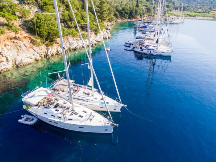 Paradise in Flotilla: a Sailing Trip Through the Greek Islands