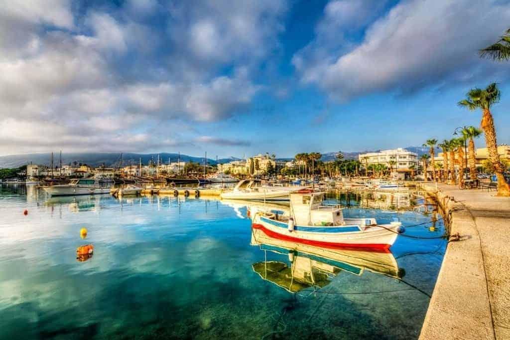 lovely boats in the marina of Kos